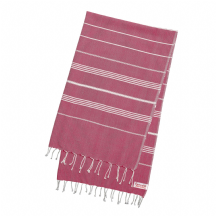 "Hammam Towel Rose Pink Large for Bath, Beach (170 cm x 100 cm / 77"" x 39.3"") Fouta Peshtemal"